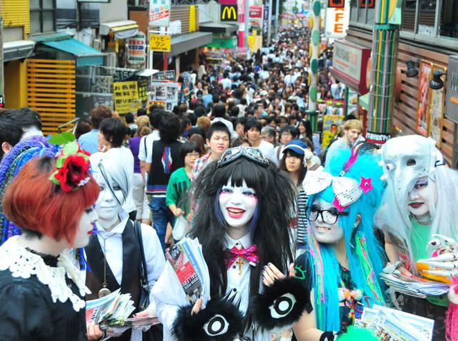 Calle Takeshita : Harajuku
