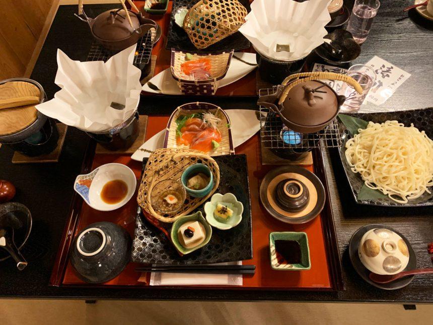 Kaiseki : Cena formal y estillo antiguo