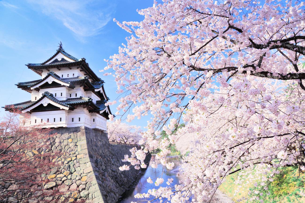 El castillo de Aizuwakamatsu