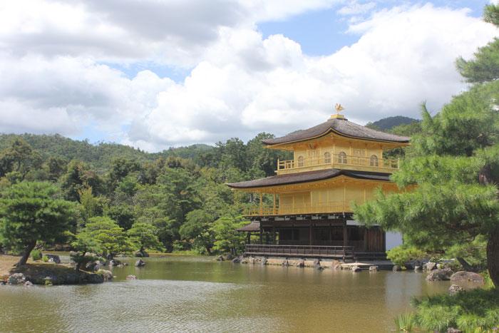 pabellon dorado,Kinkakuji