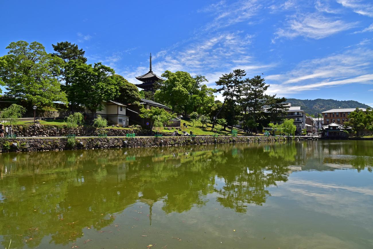 El templo Horyuji