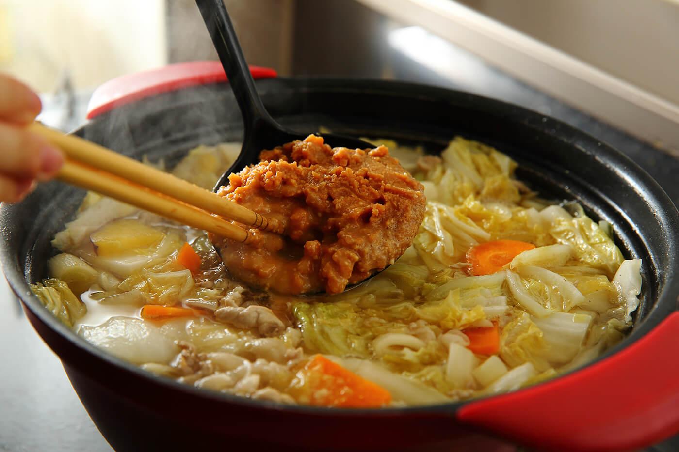 Miso : Una pasta de soja fermentada con sal marina
