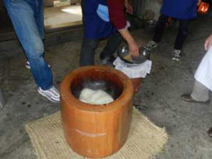 Mochi : Pastel de arroz