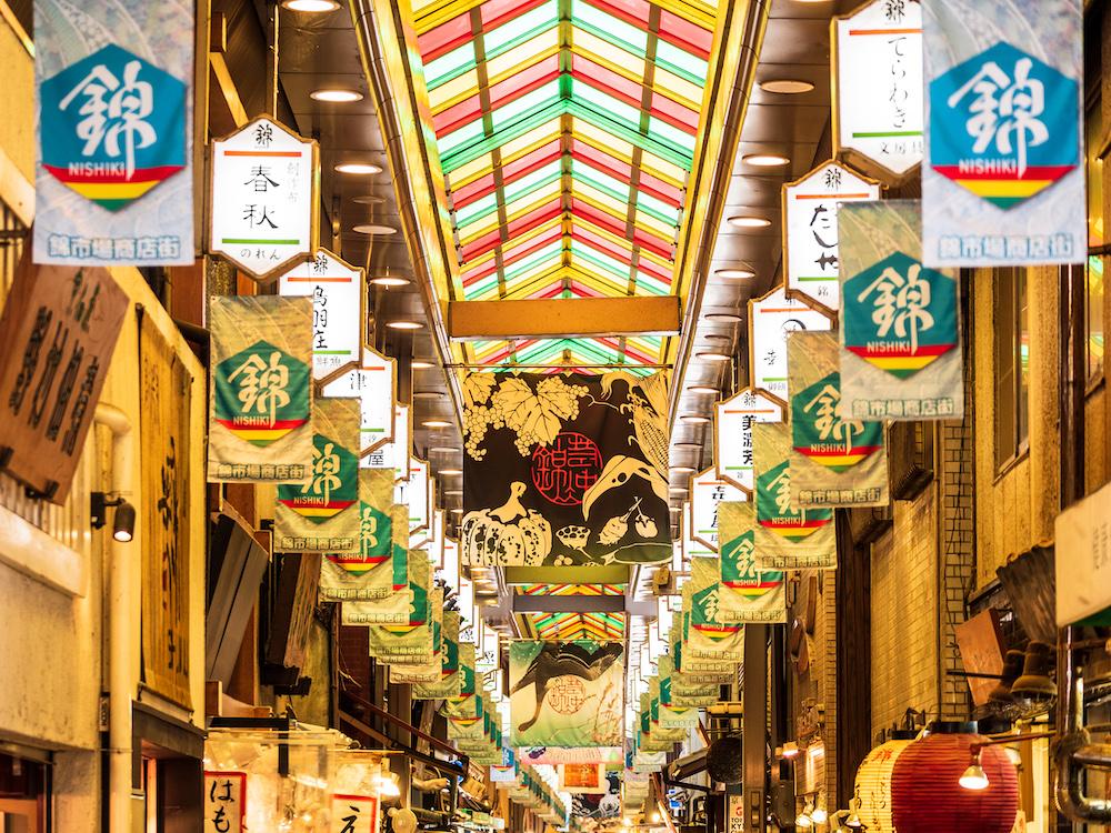 - El mercado de Nishiki -