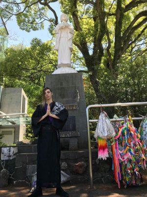 Parque de la paz en Nagasaki