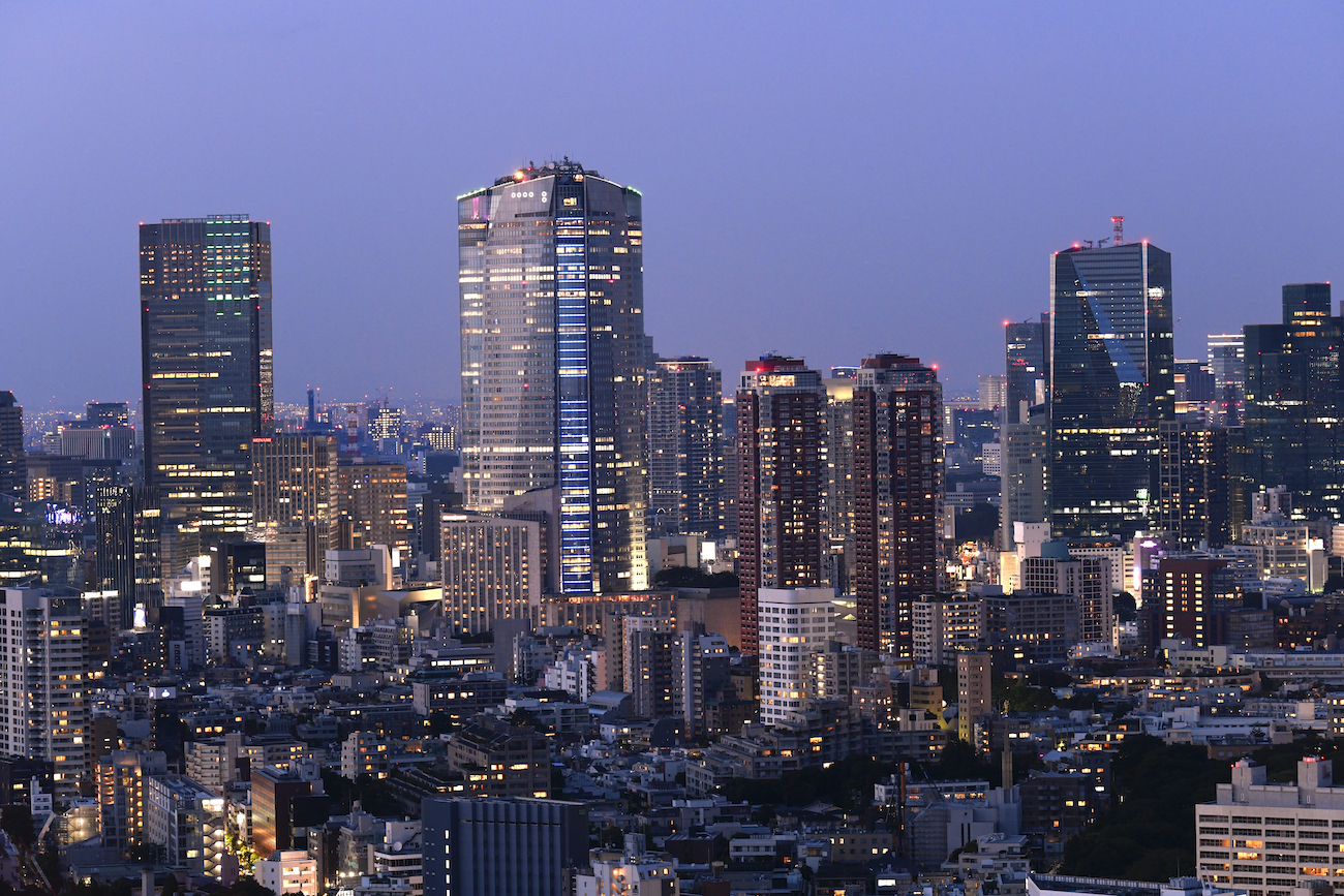 El Mirador de Roppongui Hills, Tokio