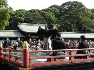 Gran Fiesta de Otono en Meiji Jingu