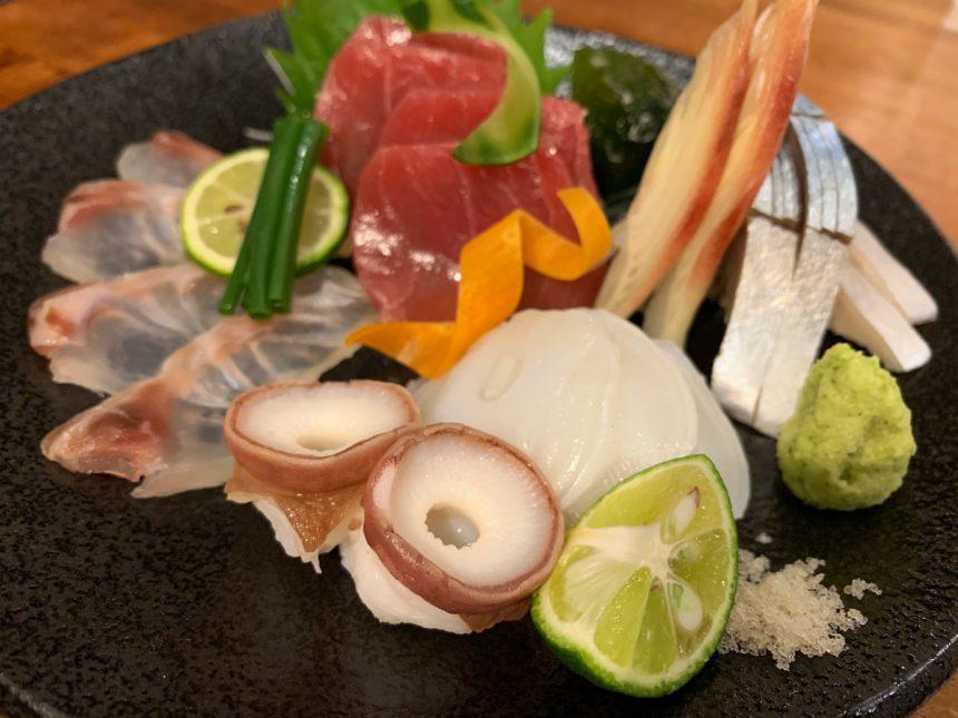 Pescado crudo : Sashimi