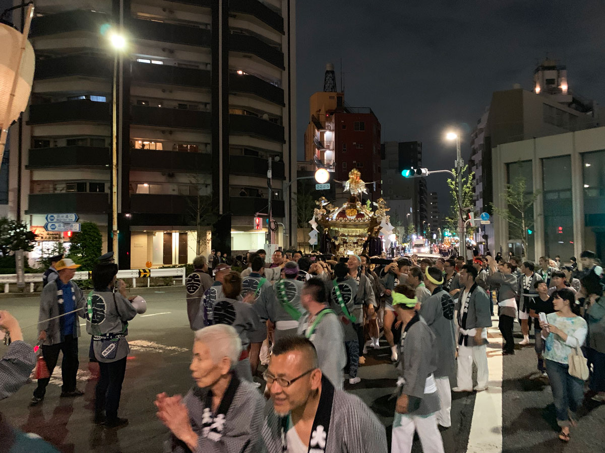 festivo en tokio
