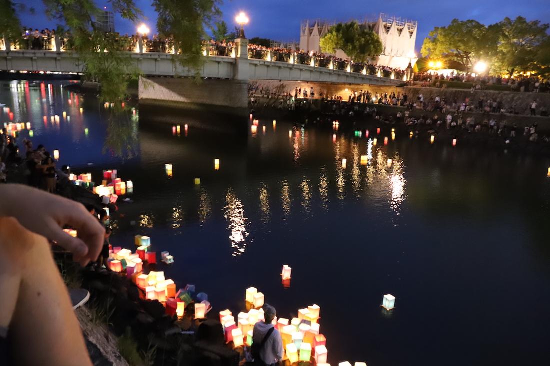 Hiroshima,toro nagashi