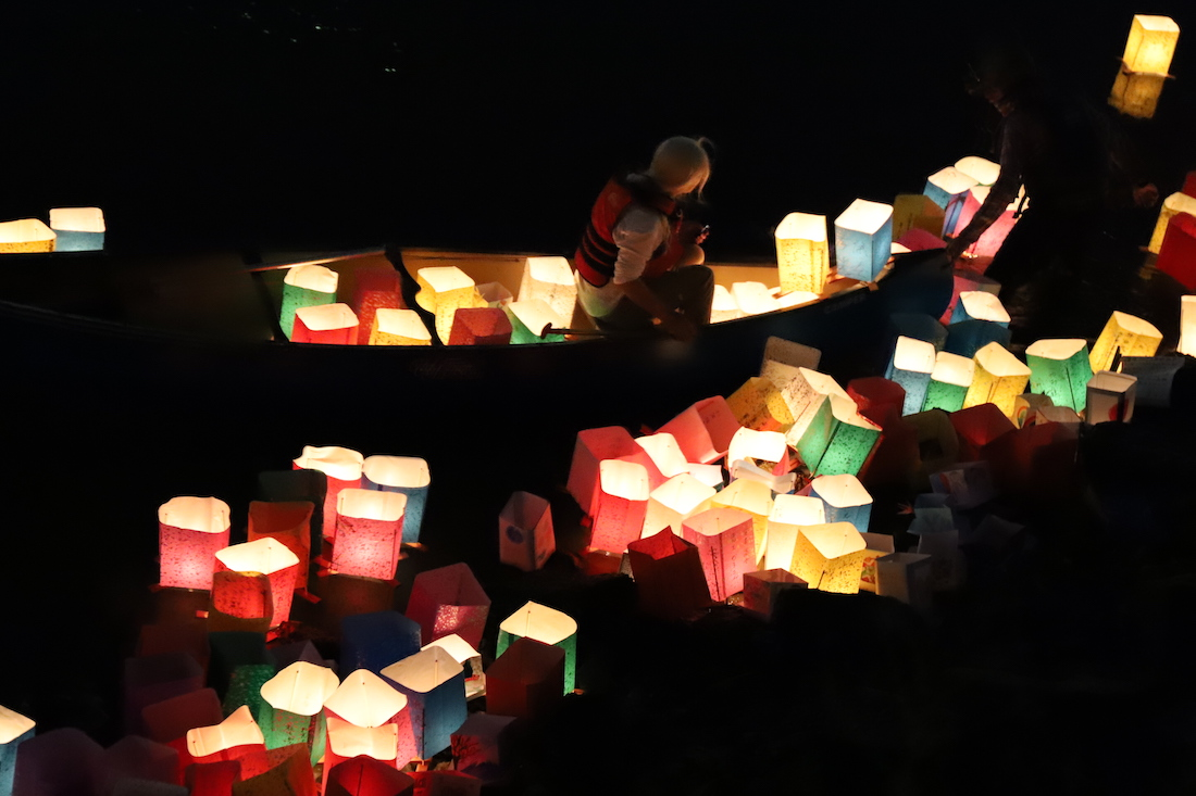 Hiroshima,Festival,Toro Nagashi