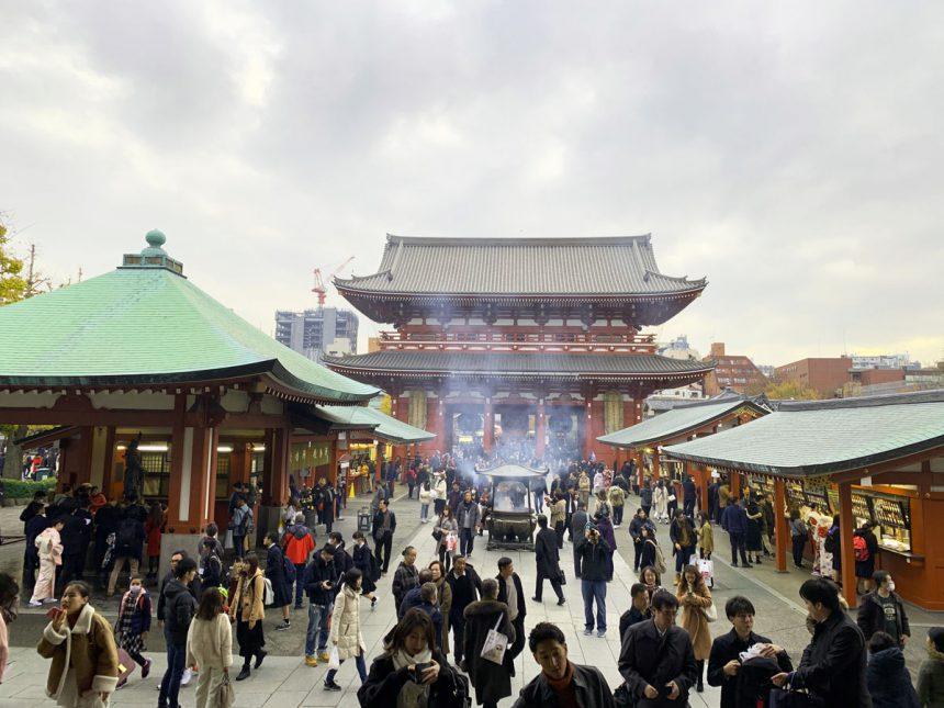 Nakamise in Asakusa