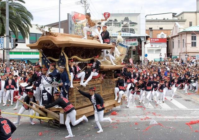 Danjiri Matsuri (festival de Kishiwada)
