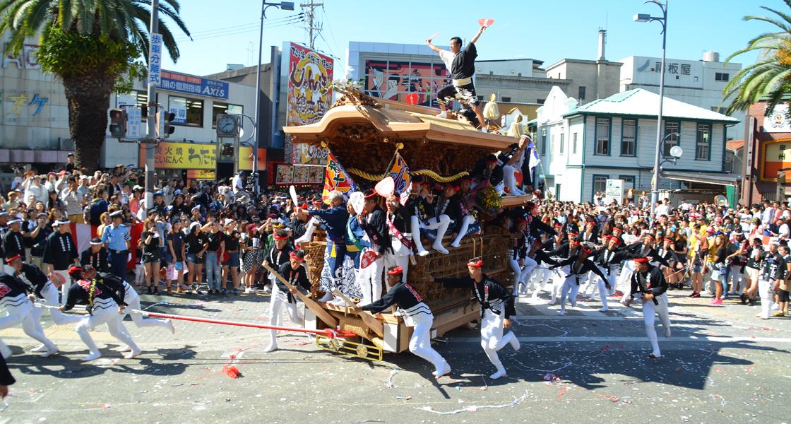 fiesta danjiri osaka