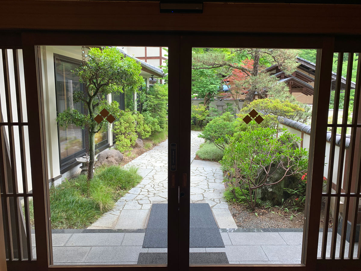 entrada de Ryokan