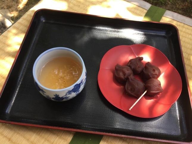 Té verde japonés o té japonés