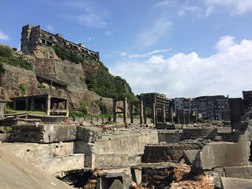 La isla Hashima (Gunkanjima)